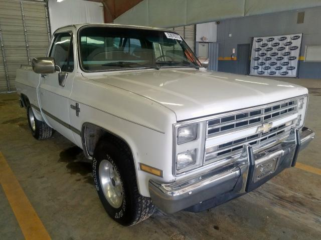 Chevrolet C10 salvage cars for sale: 1986 Chevrolet C10