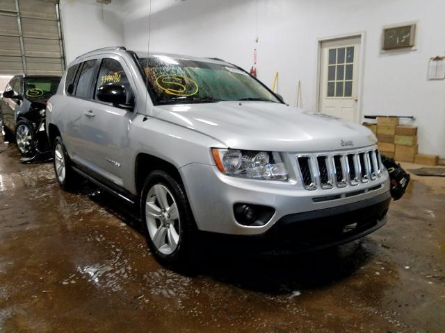 Salvage cars for sale at Davison, MI auction: 2011 Jeep Compass SP