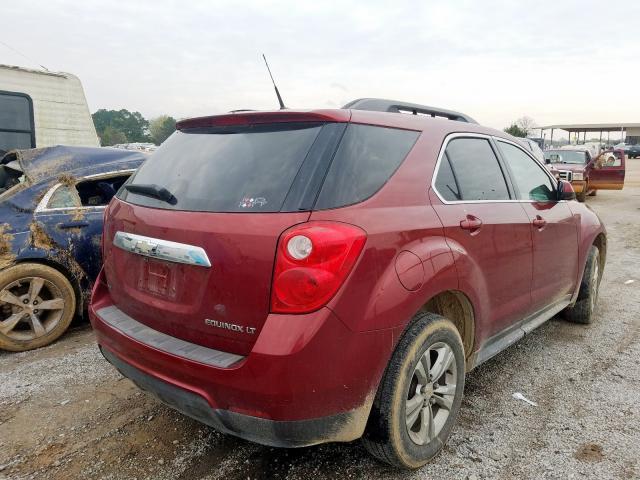 2011 CHEVROLET EQUINOX LT - Right Rear View
