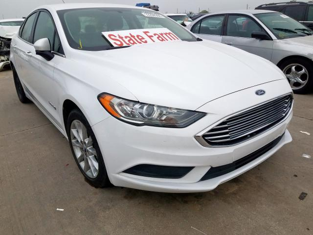 2017 FORD FUSION SE - Other View