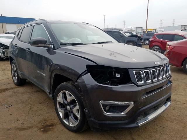 3C4NJDCB7JT360605 2018 JEEP COMPASS LIMITED