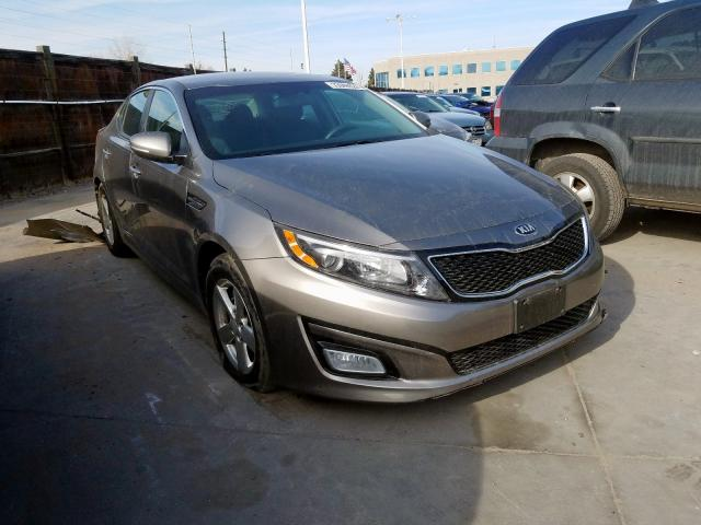Vehiculos salvage en venta de Copart Littleton, CO: 2015 KIA Optima LX