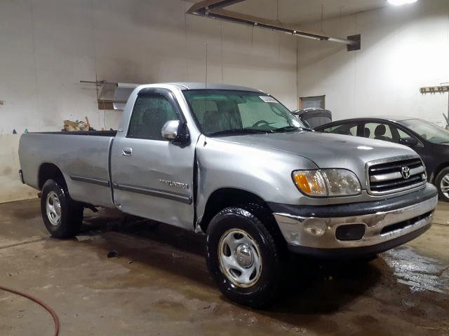 Toyota Tundra SR5 salvage cars for sale: 2001 Toyota Tundra SR5