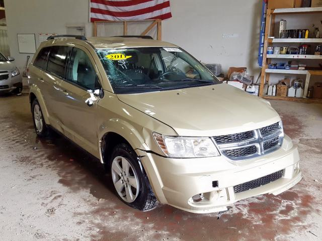 Dodge Journey EX salvage cars for sale: 2011 Dodge Journey EX