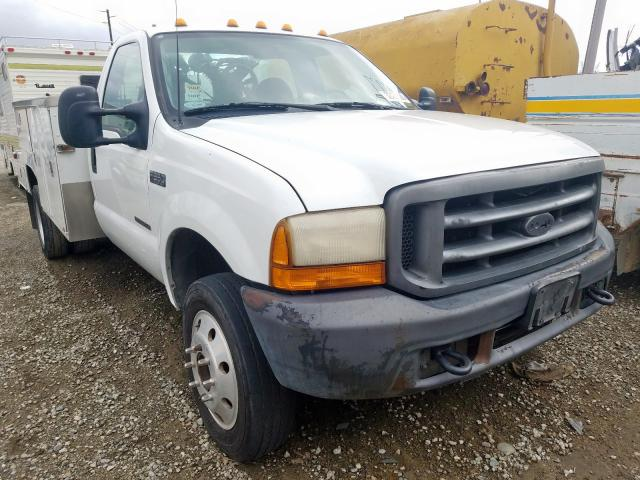 Ford F550 Super salvage cars for sale: 2001 Ford F550 Super