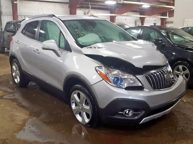 Salvage cars for sale from Copart Lansing, MI: 2016 Buick Encore