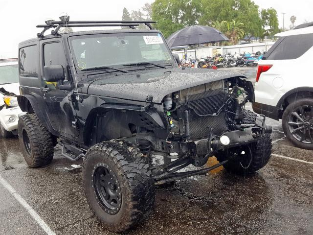 Jeep Wrangler S salvage cars for sale: 2017 Jeep Wrangler S