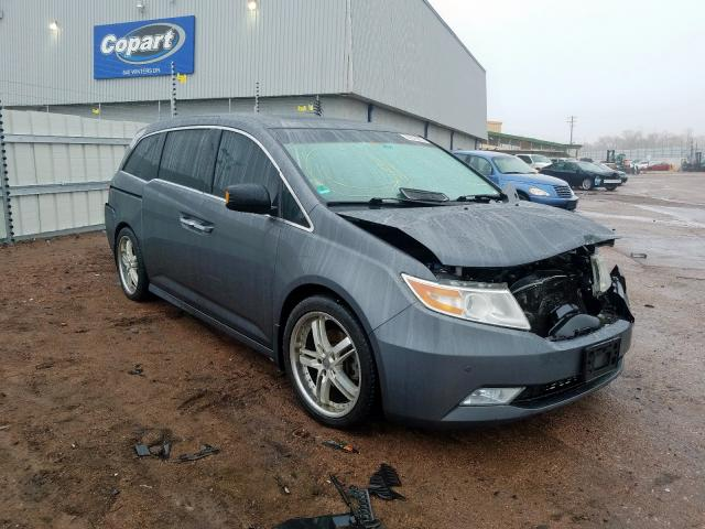 Honda Odyssey TO salvage cars for sale: 2011 Honda Odyssey TO