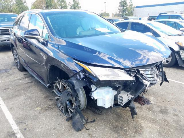 Salvage cars for sale from Copart Rancho Cucamonga, CA: 2019 Lexus RX 350 L