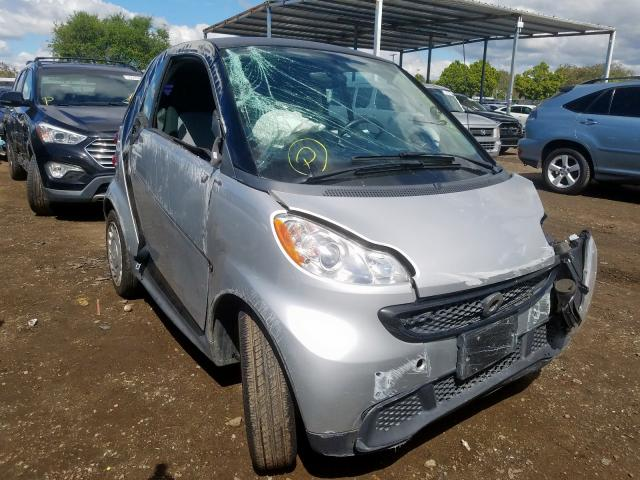 Smart salvage cars for sale: 2014 Smart Fortwo PUR