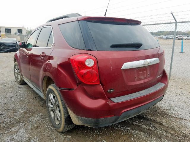 2011 CHEVROLET EQUINOX LT - Right Front View