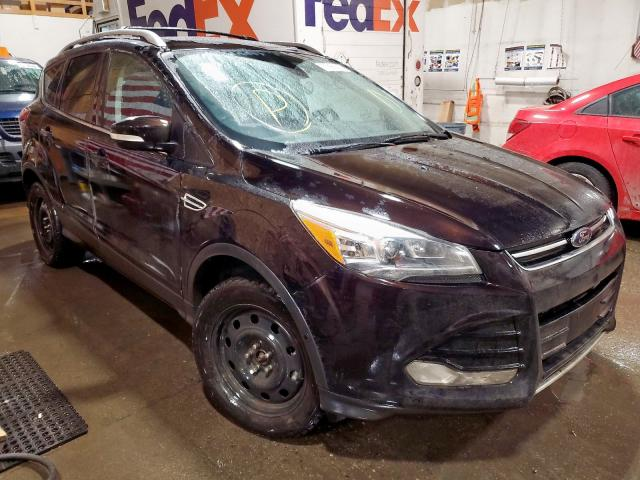 Ford salvage cars for sale: 2013 Ford Escape Titanium