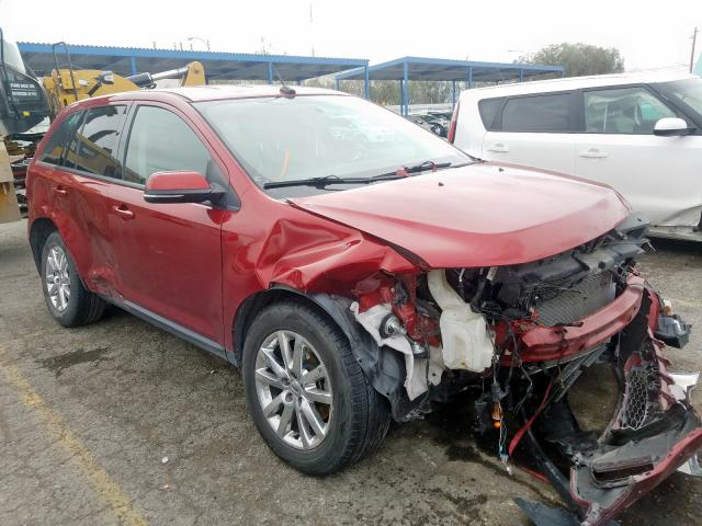 Ford Edge SEL salvage cars for sale: 2014 Ford Edge SEL