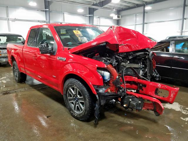 Vehiculos salvage en venta de Copart Ham Lake, MN: 2016 Ford F150 Super