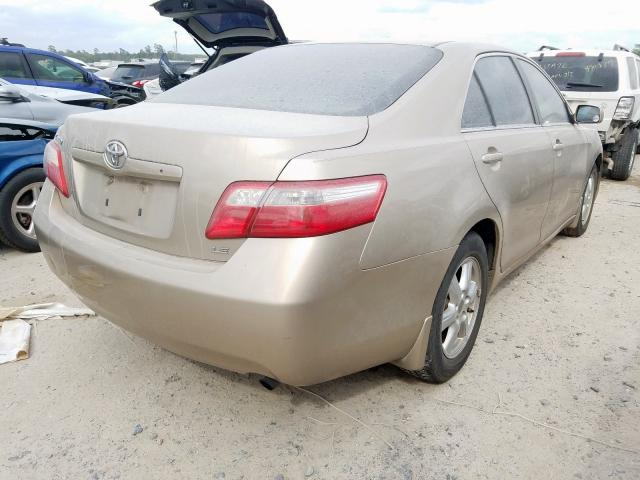 2007 TOYOTA CAMRY CE - Right Rear View