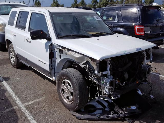 Jeep salvage cars for sale: 2014 Jeep Patriot SP