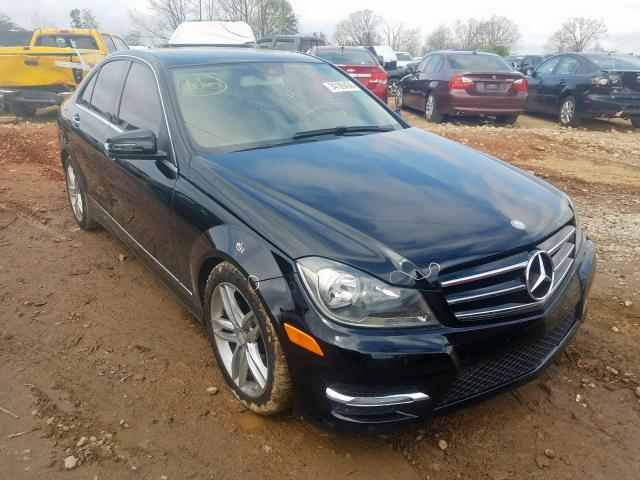 Mercedes-Benz C250 salvage cars for sale: 2014 Mercedes-Benz C250