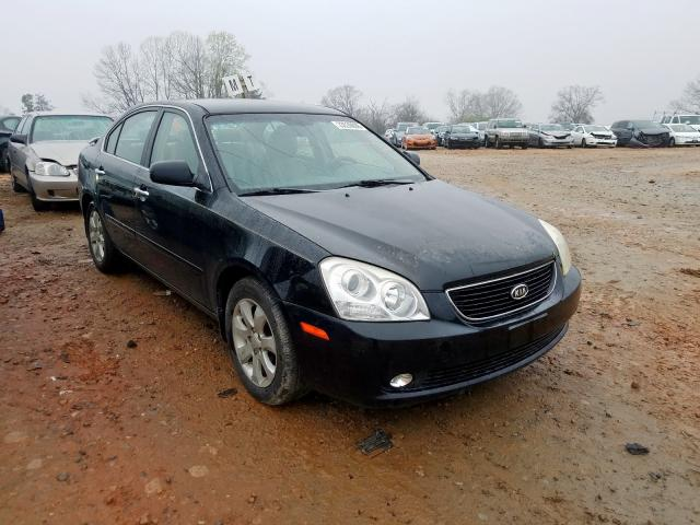 Salvage cars for sale from Copart China Grove, NC: 2008 KIA Optima LX