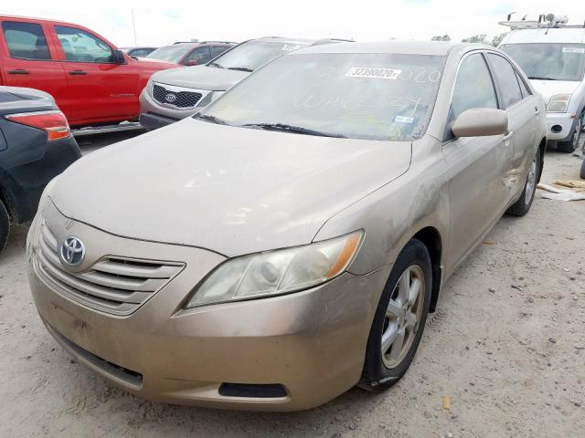 2007 TOYOTA CAMRY CE - Left Front View