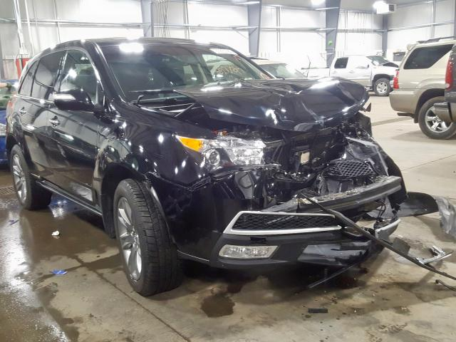 Vehiculos salvage en venta de Copart Ham Lake, MN: 2013 Acura MDX Advance