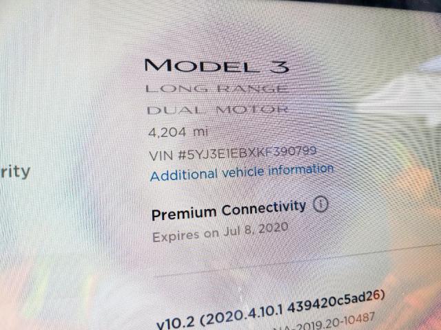 Купить Tesla Model 3 2019 г. из США с доставкой и растаможкой под ключ.