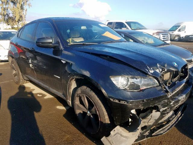 BMW X6 XDRIVE3 salvage cars for sale: 2009 BMW X6 XDRIVE3