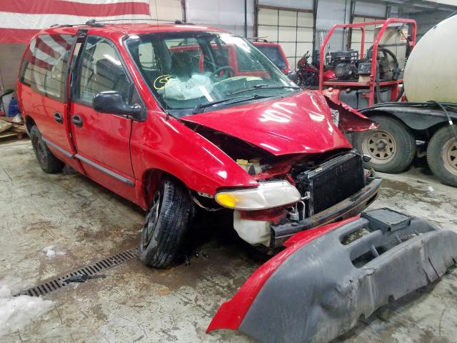 Dodge Caravan salvage cars for sale: 1996 Dodge Caravan