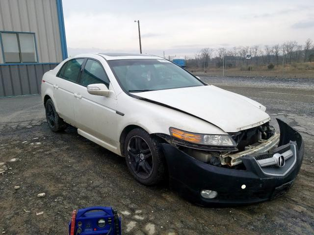 Salvage cars for sale from Copart Chambersburg, PA: 2007 Acura TL