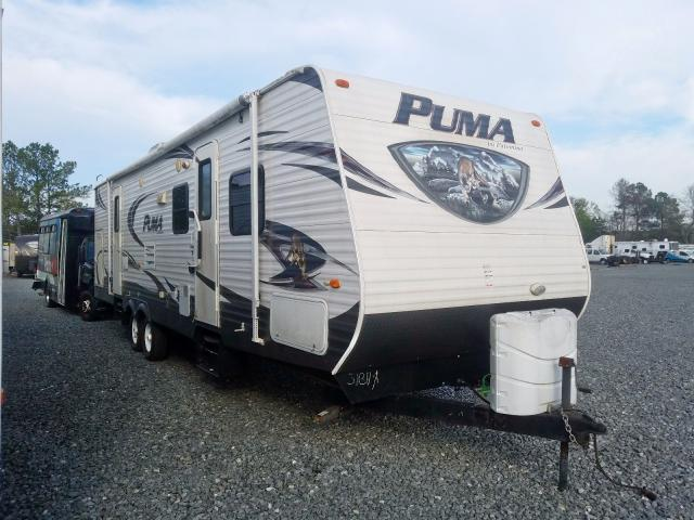 Puma Trailer salvage cars for sale: 2014 Puma Trailer