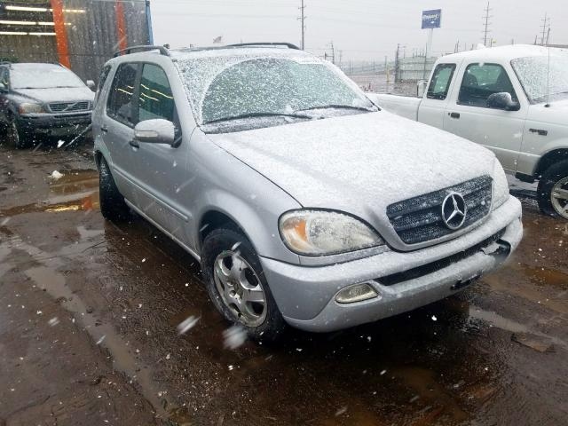Mercedes-Benz ML 320 salvage cars for sale: 2003 Mercedes-Benz ML 320