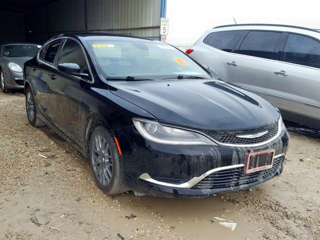 Salvage cars for sale from Copart San Antonio, TX: 2016 Chrysler 200 Limited