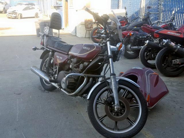 1976 YAMAHA MOTORCYCLE