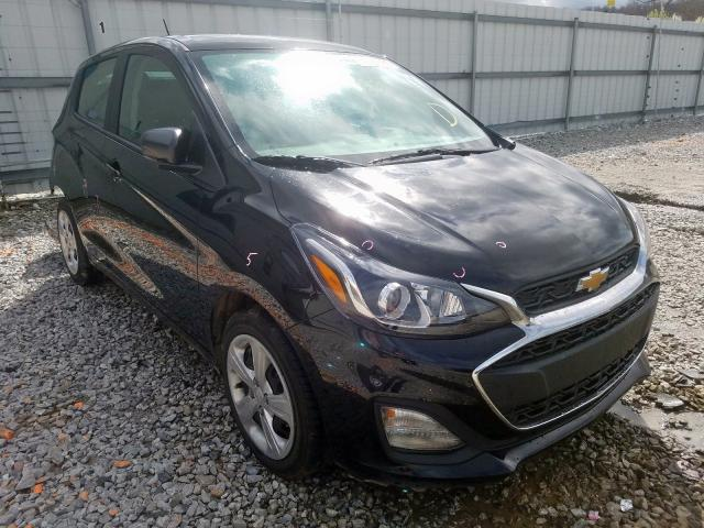 Chevrolet salvage cars for sale: 2020 Chevrolet Spark LS