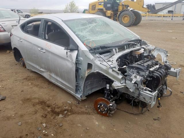 Salvage cars for sale from Copart Albuquerque, NM: 2019 Hyundai Elantra SE