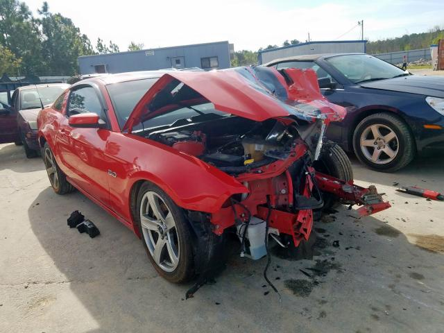 Salvage cars for sale from Copart Gaston, SC: 2014 Ford Mustang GT