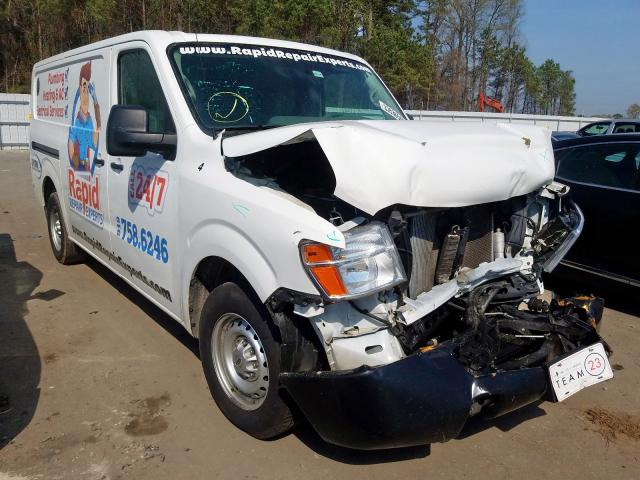 Nissan NV 1500 S salvage cars for sale: 2016 Nissan NV 1500 S