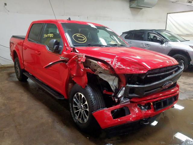 2019 FORD F150 SUPERCREW 1FTEW1EP9KFB16278