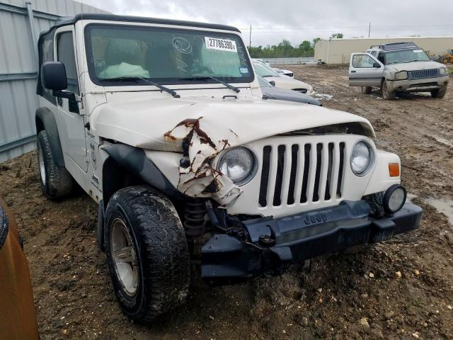 Salvage cars for sale from Copart Houston, TX: 2004 Jeep Wrangler