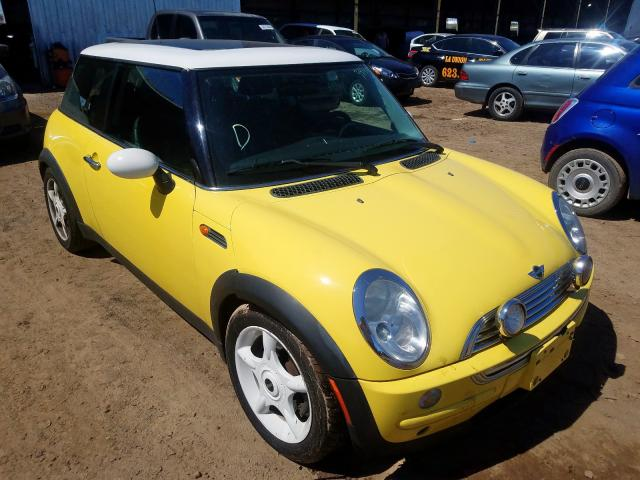 Mini Cooper salvage cars for sale: 2003 Mini Cooper