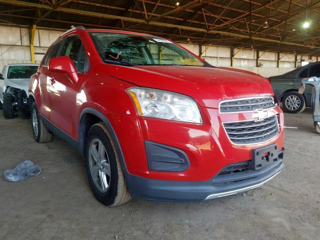 Chevrolet Trax 1LT salvage cars for sale: 2015 Chevrolet Trax 1LT