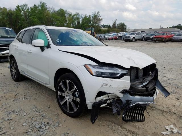 Volvo XC60 T5 IN salvage cars for sale: 2020 Volvo XC60 T5 IN