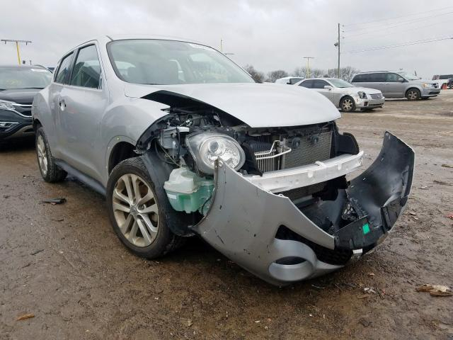 Nissan salvage cars for sale: 2017 Nissan Juke S