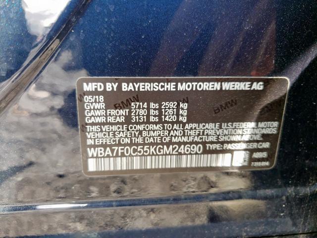 WBA7F0C55KGM24690