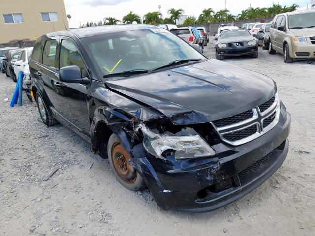 Salvage 2011 DODGE JOURNEY - Small image. Lot 34334730