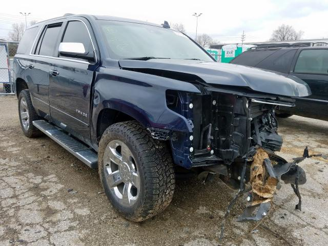 Salvage cars for sale from Copart Bridgeton, MO: 2017 Chevrolet Tahoe K150