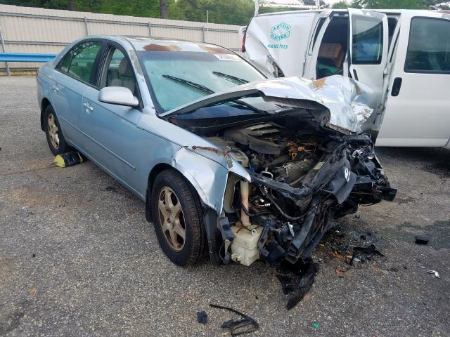 Hyundai salvage cars for sale: 2006 Hyundai Sonata GLS