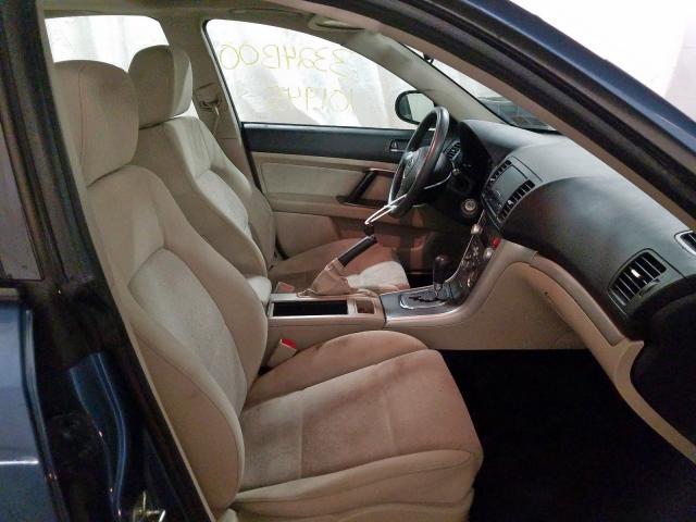 2009 Subaru Legacy Sedan 4d 2 5l Gas Blue للبيع Ebensburg