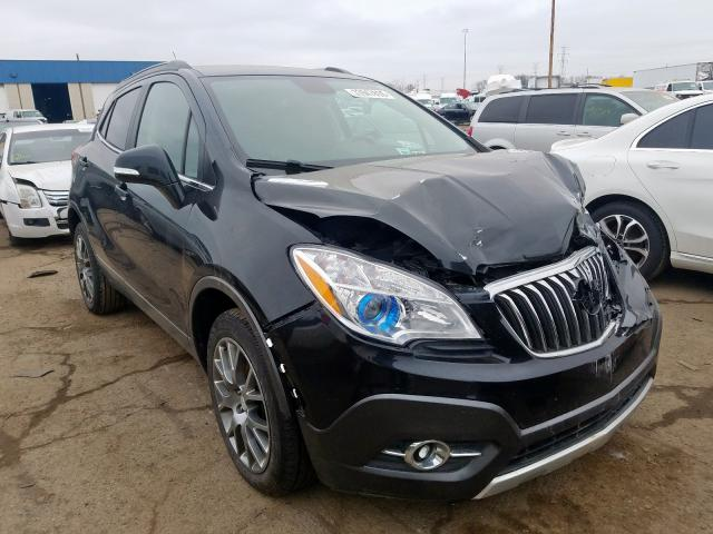 Buick Encore Sport salvage cars for sale: 2016 Buick Encore Sport
