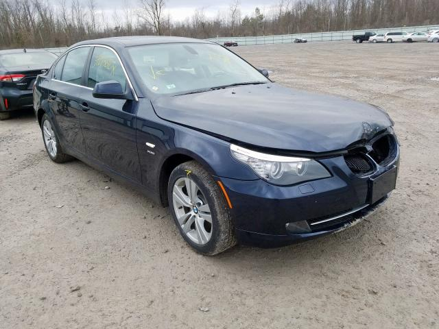 Salvage cars for sale from Copart Leroy, NY: 2010 BMW 528 XI