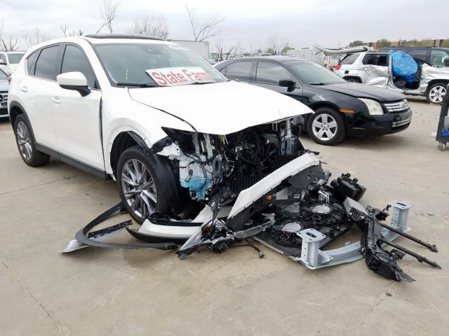 Mazda CX-5 Grand Touring salvage cars for sale: 2019 Mazda CX-5 Grand Touring
